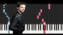 Muse - Thought Contagion (Piano Tutorial)
