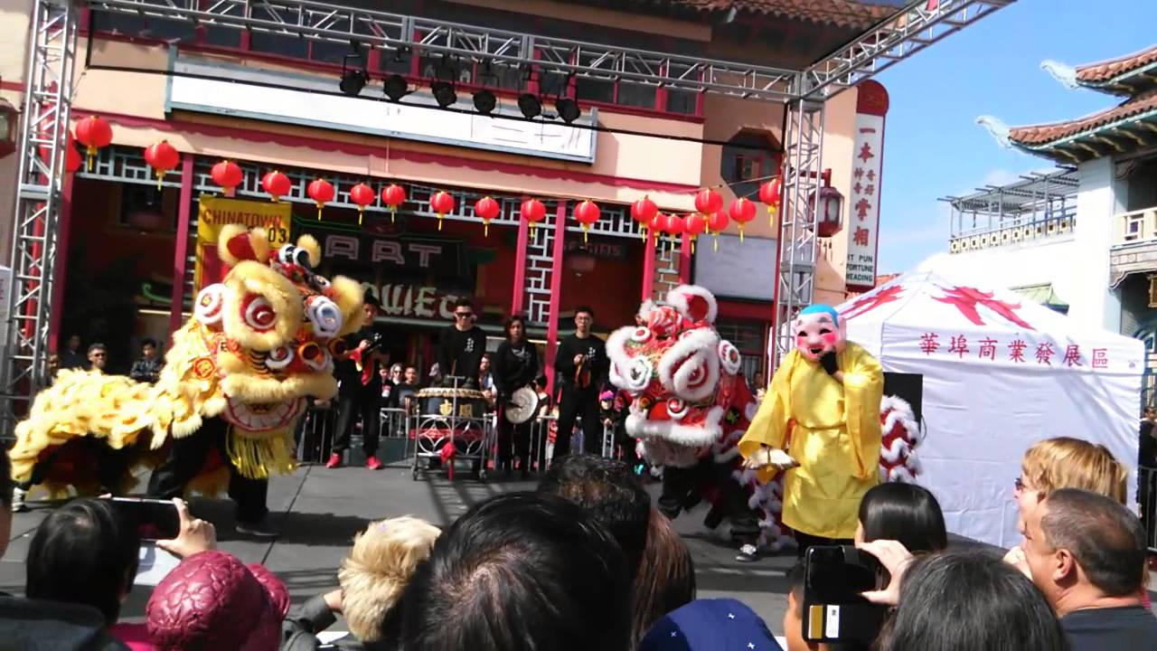 los angeles chinatown chinese new year 2015 youtube - Chinese New Year Los Angeles