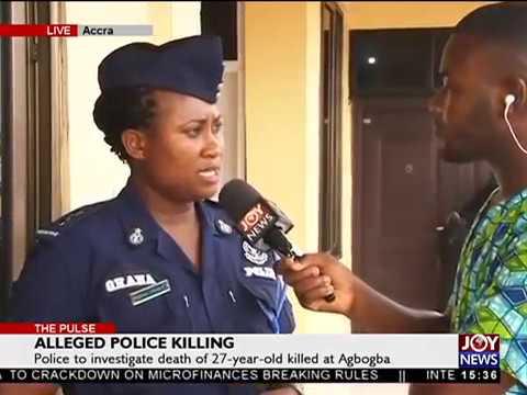 Alleged Police Killing - The Pulse on JoyNews (20-4-18)