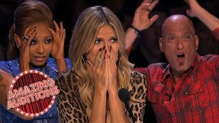 Most DANGEROUS Auditions On America's Got Talent | Amazing Auditions