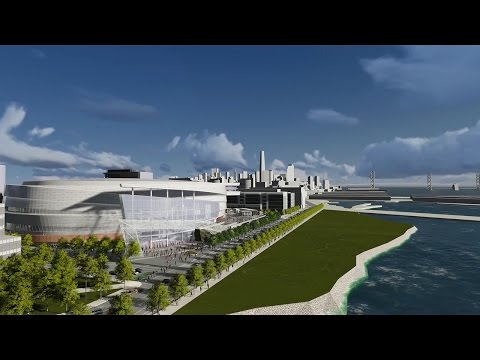 San Francisco Venue 3D Rendering Animation