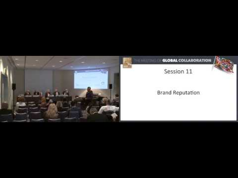 IHIF 2016 Session 11 - Brand Reputation