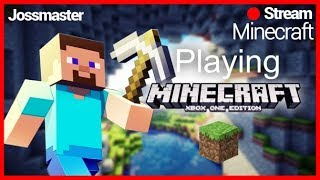 MINECRAFT ON XBOX ONE !!! LETS FINISH THIS MALL OFF WITH THE WIFE AND FRIENDS!!! #WeGrowTogether