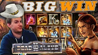 BIG WIN on Dead or Alive 2 Slot - £9 Bet!