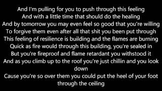 Repeat youtube video Eminem - Beautiful Pain ft. Sia (Lyrics HD MMLP2)