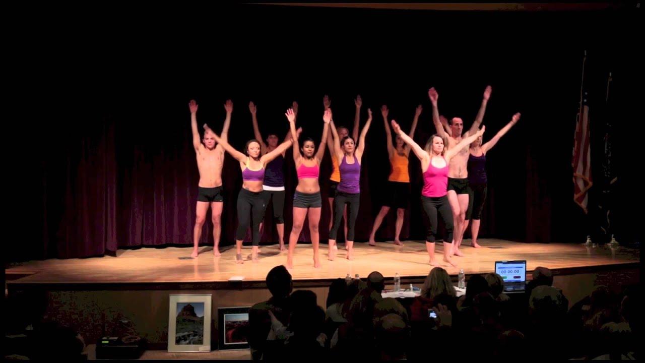 Group Yoga Demonstration