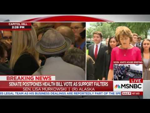 Senator Murkowski Speaks to MSNBC
