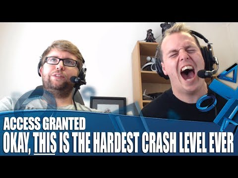 Access Granted - All right, THIS is the hardest Crash level ever...