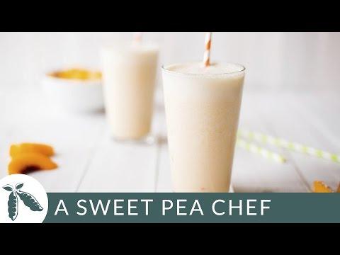 Peach Protein Shake   A Sweet Pea Chef