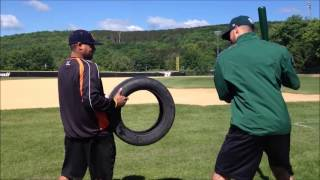Nate Eastman Shows You The Tire Hitting Drill