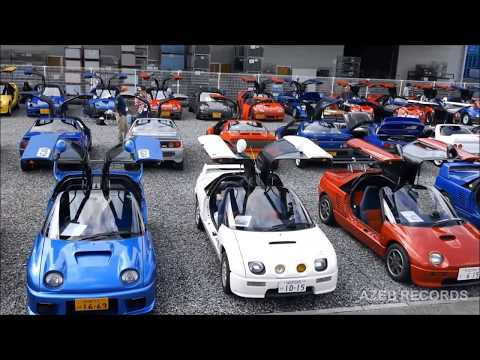 AUTOZAM AZ-1 & SUZUKI CARA 25th Anniversary Meeting