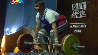 Объектив 12 10 18 В Николаеве завершился ЧУ по тяжелой атлетике среди юношей и девушек до 15 лет