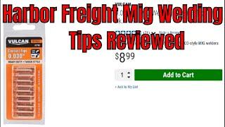 Harbor Freight Mig Welding Cooper Tips - Great Buy ?
