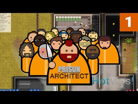 Prison Architect 2.0 - Ep 01 - Introduction to Prison Town - Let's Play
