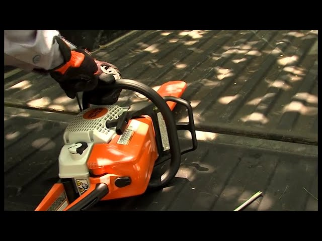 Chapter 4: Preparing Your STIHL Chainsaw