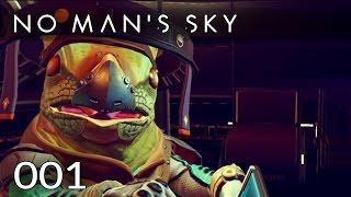 No Man's Sky [001] [Der Weltraum - das Abenteuer beginnt] [NMS] [Gameplay Let's Play Deutsch German] thumbnail