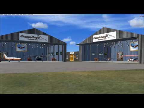 FSX Eaglesoft Hangar GA Fleet KAMW Ames, Iowa