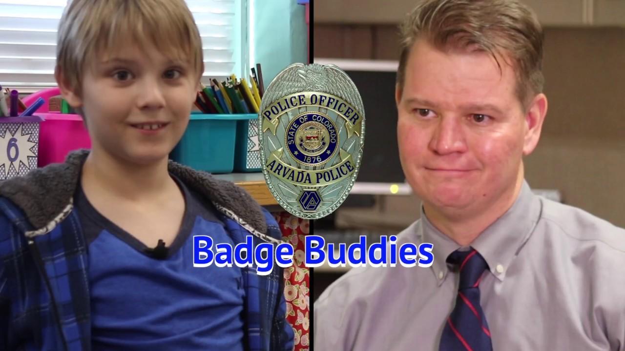 Arvada Police Badge Buddies
