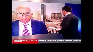 Repeat youtube video A wrong guest to a wrong program, live on BBC World News: