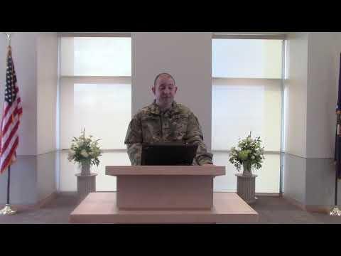 Sacred Communication - Army Values - 2018