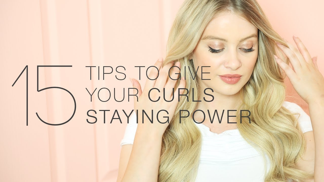 15 Tips To Give Your Curls Staying Power Milk Blush Hair