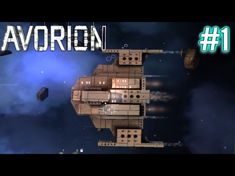 Avorion | Sunfish Mining Ship | Part 1 | Avorion Gameplay