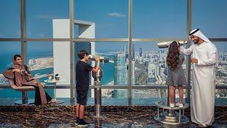 A luxurious stay in Conrad Abu Dhabi Etihad Towers