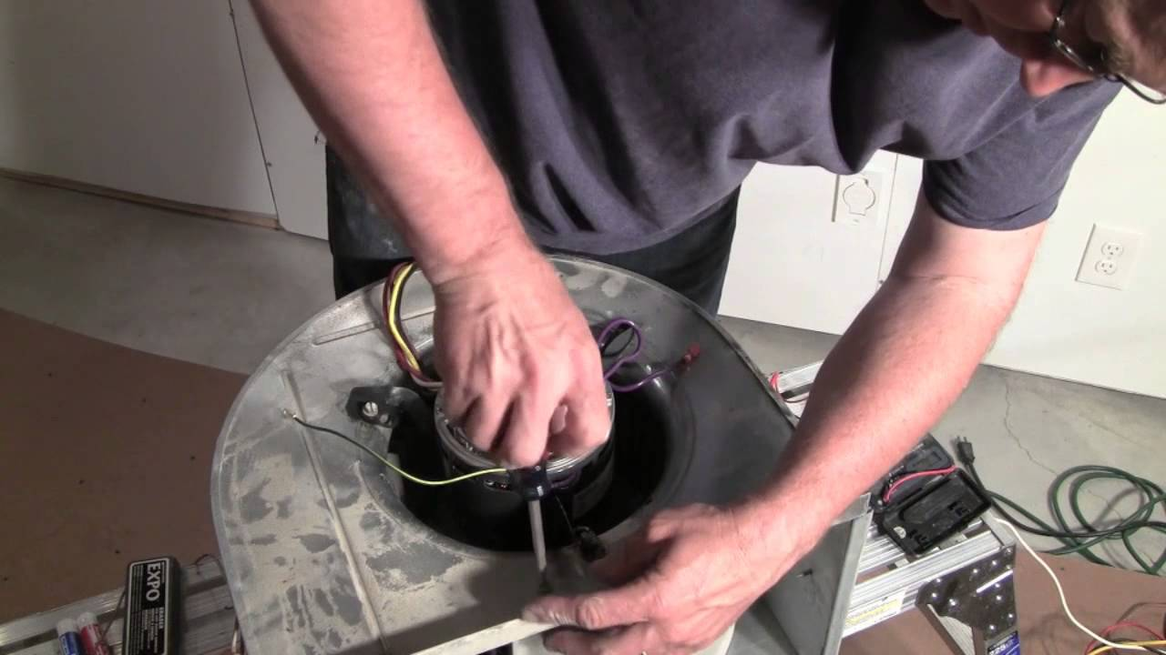 Furnace Blower Motor Diagnosis And Repair Youtube York Diamond 80 Fan Wiring