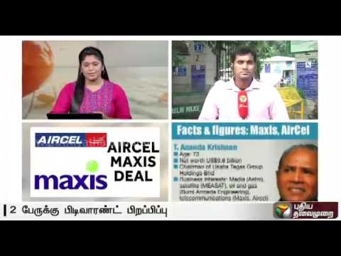 Aircel-Maxis Case: Arrest warrant issued against Ananda Krishnan, Ralph Marshall