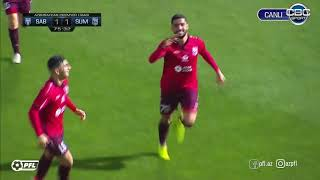 Mehdi Sharifi scores his 5th goal for Sumqayit in 2019/20 season