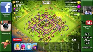 CLASH OF CLANS: Im CW rasiert! ✭ Let's Play Clash of Clans [Deutsch/German HD]