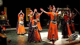 Nach Ballet Bailar traditional Indian dance performance