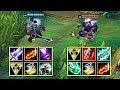 New Garen Vs Jax Full Build Fights Andamp Best Moments