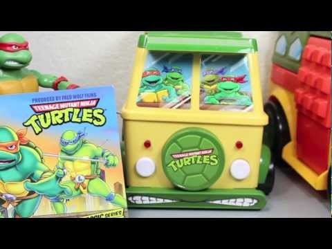 Teenage Mutant Ninja Turtles Complete Classic Collection DVD Party Wagon Box Set Review
