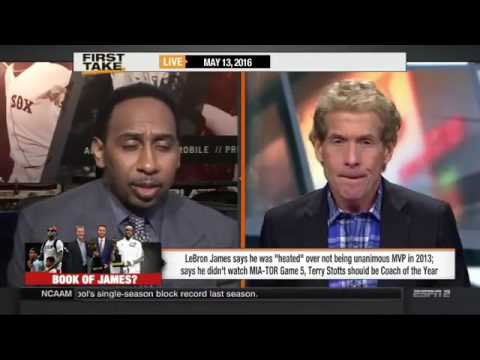 ESPN First Take - LeBron James Says He Was Heated Over not Being Unanimous MVP
