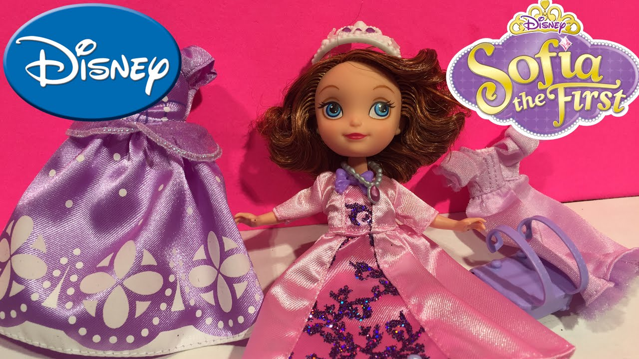 Sofia The First: Sofia\'s Royal Fashion Doll with Gown, Disney - YouTube