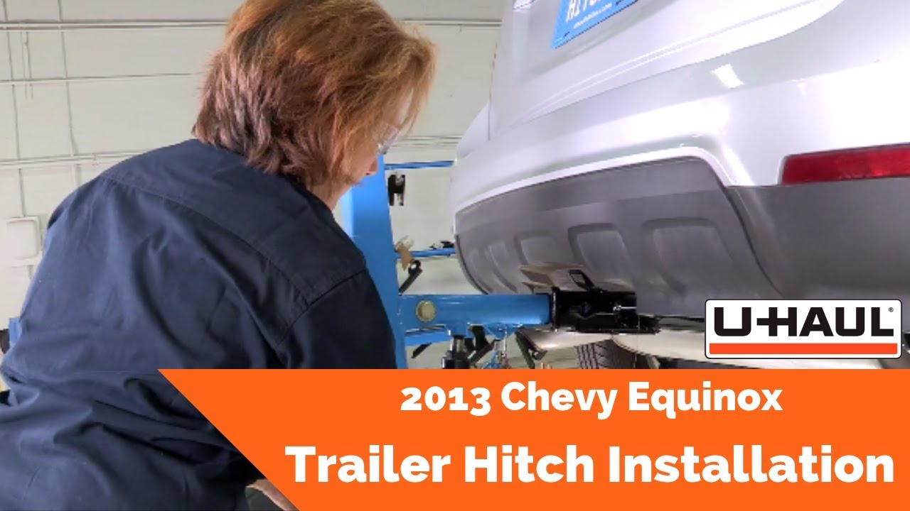 hight resolution of u haul tips trailer hitch installation for 2013 chevrolet equinox video