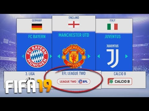 WHAT IF EUROPEAN LEAGUES WERE REVERSED IN FIFA 19 CAREER MODE?! thumbnail