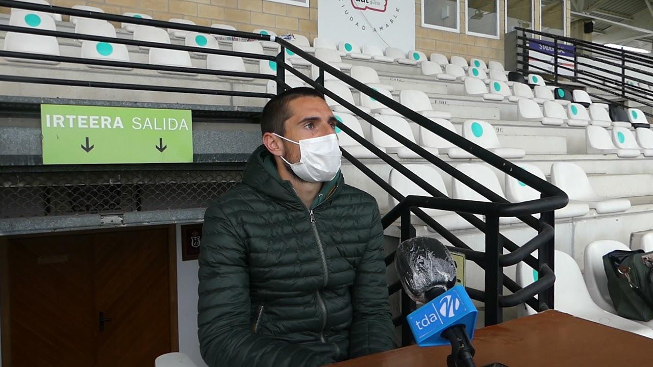 Mikel Azkoiti. 1ª jornada 2ª fase. Previa del Real Unión Club-SD Tarazona