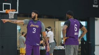 2019 NBA Preseason Tour || Los Angeles Lakers