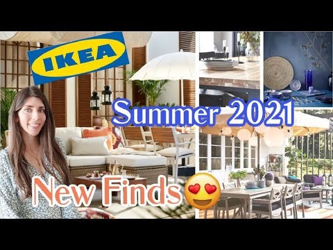 NEW at Ikea Shop With Me SUMMER 2021 / Outdoor Patio Ideas + New Products & Decor