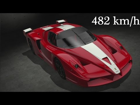 Gran Turismo 6 Ferrari FXX '2007 - 482 km/h Top Speed - 동영상