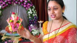 Sonalika Joshi Mrs Bhide of Tarak Mehta Ganpati POOJA