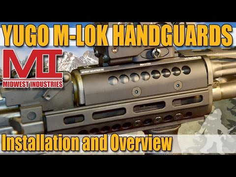 Midwest Industries Yugo AK-47 M-Lok Handguards - Installation & Overview