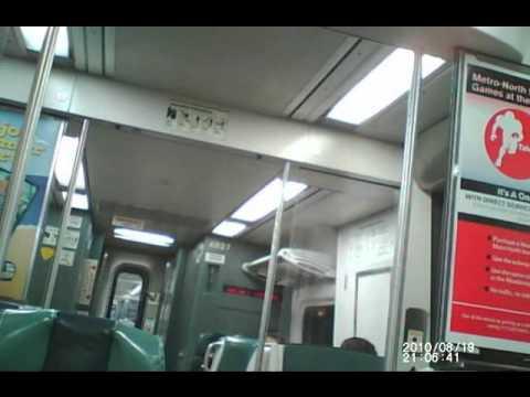 MTA Metro-North Railroad Harlem Line - Binaural Recording (Wear earbuds/headphones)