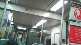 MTA Metro-North Railroad Harlem Line - Binaural Recording (Wear earbuds/headphones)