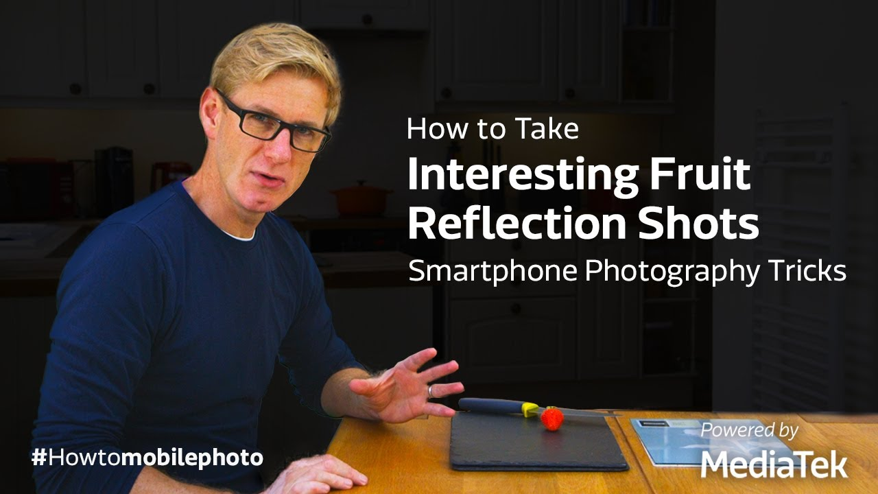 How to Take Interesting Fruit Reflection Shots | Smartphone Photography Tricks