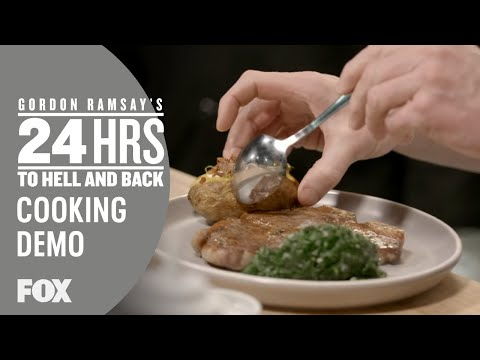 Cooking Demo: T-Bone Steak | Season 2 Ep. 9 | GORDON RAMSAY'S 24 HOURS TO HELL & BACK