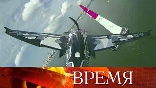 Захватывающее воздушное шоу вКазани— Россия впервые принимает соревнования Red Bull Air Race.