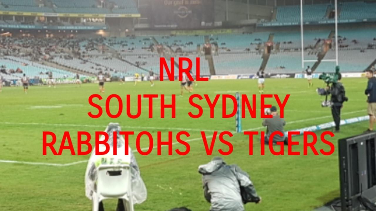 Nrl South Sydney Rabbitohs Vs Tigers 12 5 17 Vlog Youtube